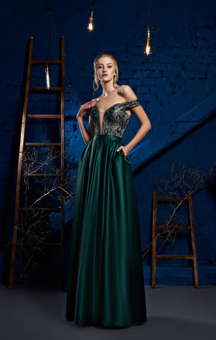 Вечірня сукня. Модель.019-43