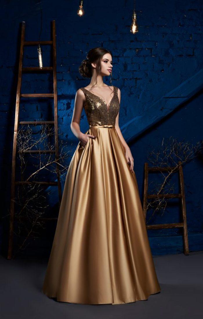 Вечірня сукня. Модель 019-03